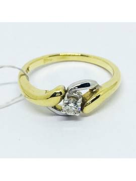 """ENGAGEMENT RING """"IN LOVE NETS"""""""
