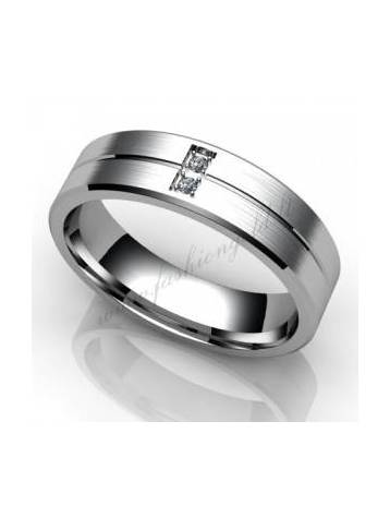 "WEDDING RING ""TANGO"" (Matte) - PRODUCTION"