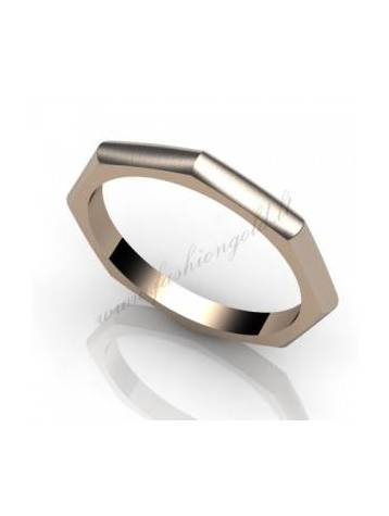 "WEDDING RING ""THE FACETED"" - PRODUCTION"